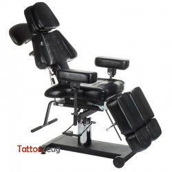 Hydraulischer Sessel fürs Tattoostudio