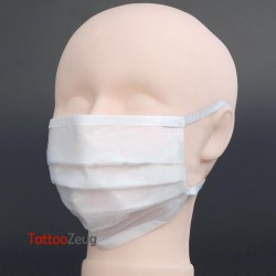 Mouth and nose protection mask, disposable, fleece
