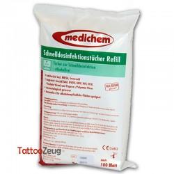 Medichem Schnelldesinfektionstücher Refill