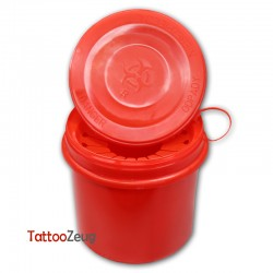 Disposal box for needles 1l, red