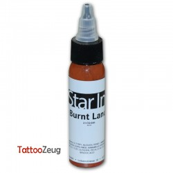 Burnt Land, 30ml - Star Ink pro tattoo colour