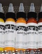 Star Ink Tattoo Colors