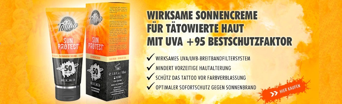 UV-protection for tattoos